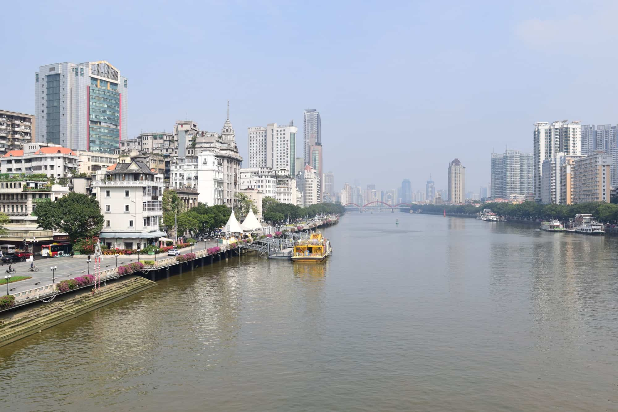 Le cœur de la région cantonaise